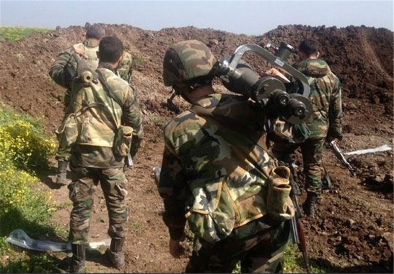 """الجیش السوری یحبط أعنف محاولة للهجوم على """"المرصد 45 """" بریف اللاذقیة"""