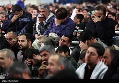 الامام الخامنئی یرعى إقامة مراسم عزاء استشهاد بضعة النبی المصطفى فاطمة الزهراء(ع)