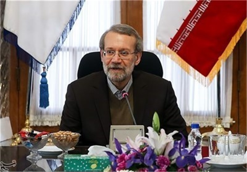 لاریجانی: قرار البرلمان الاوربی الاخیر سخیف وغیر مدروس