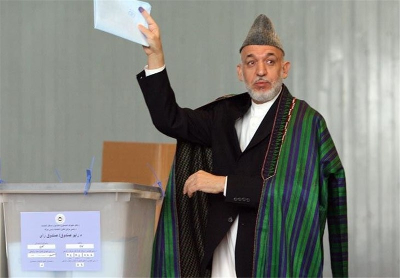 إغلاق مراکز الاقتراع لانتخابات رئاسة الجمهوریة بأفغانستان