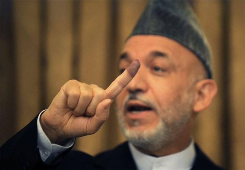 کرزای یرحب بخطط انسحاب الجیش الامریکی من افغانستان