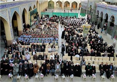 مراسم عزاء ذکرى استشهاد فاطمة الزهراء (ع) فی دمشق