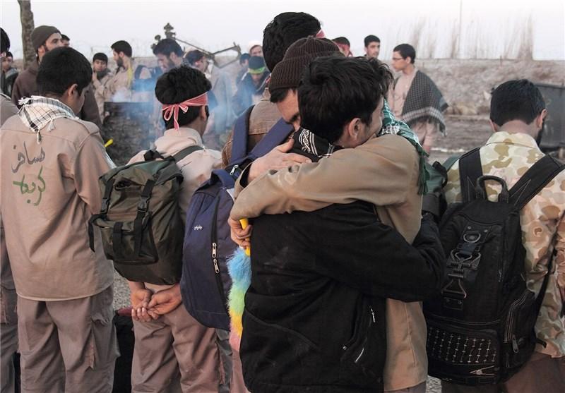 400 بسیجی از نمین به مناطق عملیاتی شمالغرب اعزام میشوند