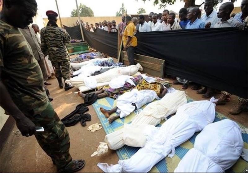 مجازر في افريقيا الوسطى