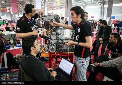 اقامة الدورة الدولیة التاسعة للروبات فی ایران الاسلامیة