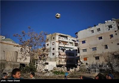 زندگی در کنار جنگ-سوریه