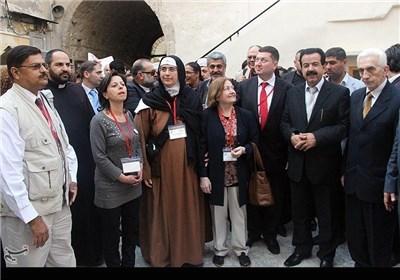 وفد السلام الدولی لسوریا: نعمل لتعزیز التضامن مع الشعب السوری لوقف العدوان