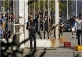 درگیری بین دانشجویان اخوان و نیروهای پلیس در دانشگاه الفیوم