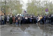 Miners Rally in Favor of Separatists in Eastern Ukraine