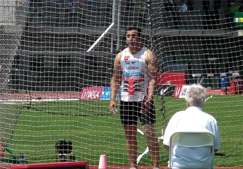 Iran's Discus Thrower Hadadi Wins Bronze in Diamond League