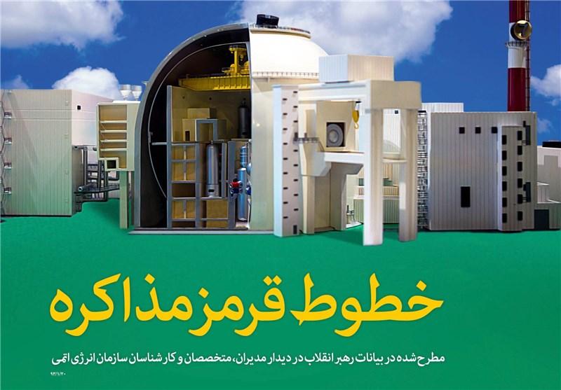 لغو تحریمها بدون وابستگی به تایید آژانس جزو خطوط قرمز ایران است