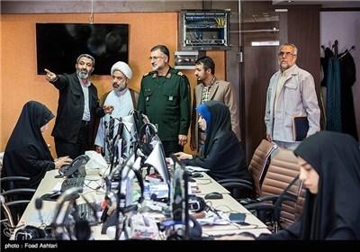 أمین المقر المرکزی لقوافل النور یزور تسنیم