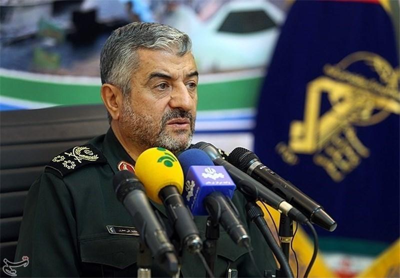 قائد الحرس الثوری : لا أحد یجرؤ على التعرض علی حدود ایران الاسلامیة الآمنة حتی أمریکا