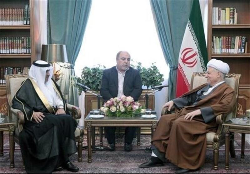 رئیس مجمع تشخیص مصلحة النظام یؤکد ضرورة التنسیق بین ایران الاسلامیة والسعودیة