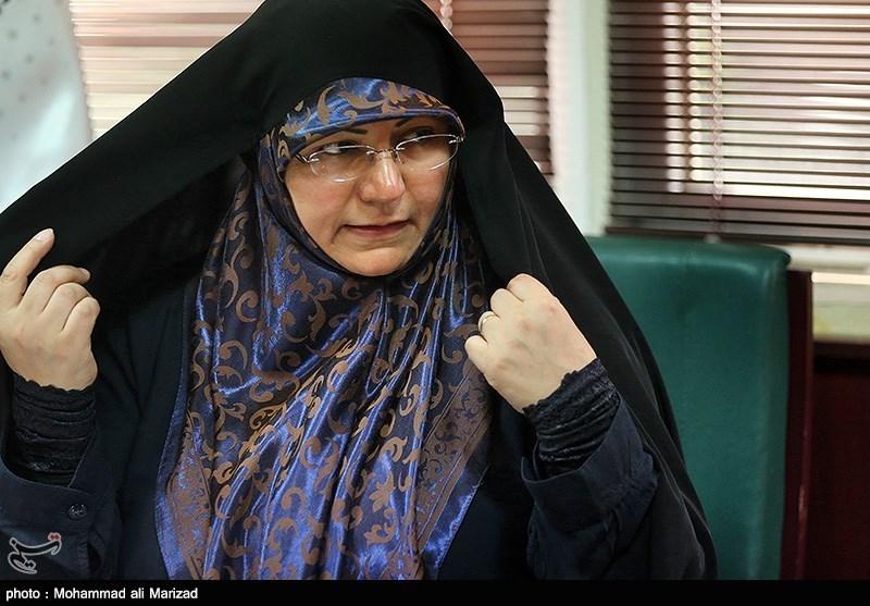حضور الهه راستگو عضو شورای شهر در خبرگزاری تسنیم