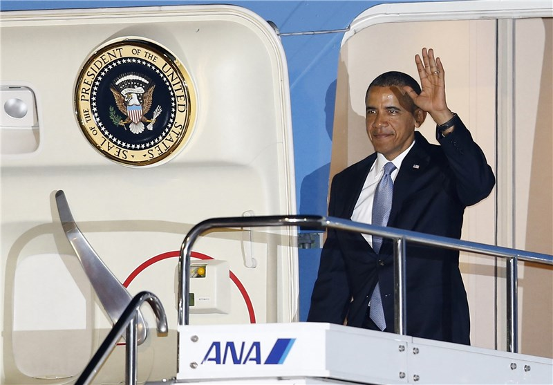 Obama Arrives in Malaysia for 2-Day Visit