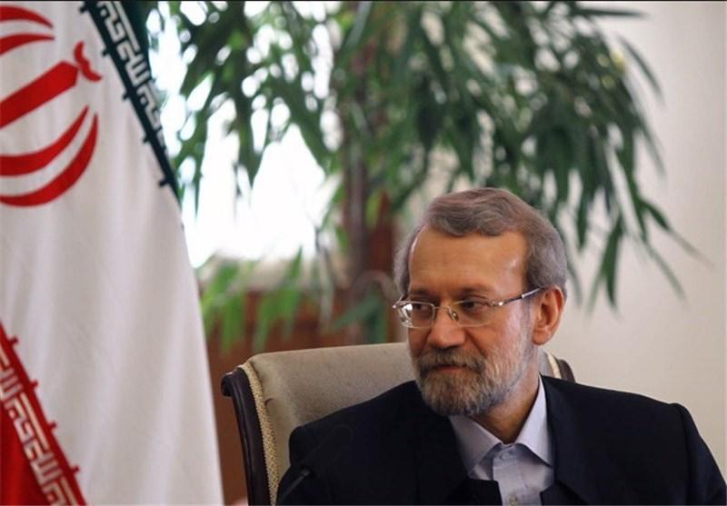 الدکتور لاریجانی : التعاطی المنطقی مع النووی الایرانی سیفضی الى اتفاق نهائی