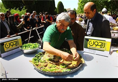 Festival of Biryani Cooking Held in Iran's Central City of Isfahan