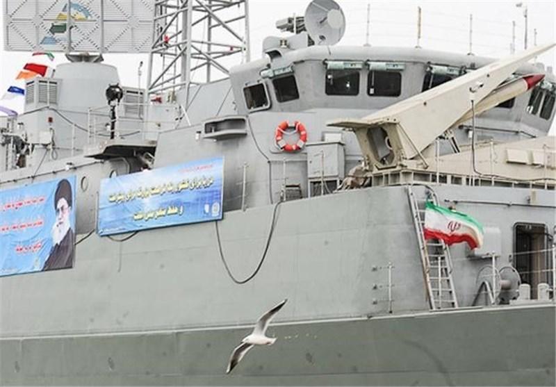 مدمرة «دماوند» المتطورة تلتحق بسلاح البحر فی الجیش صباح الیوم الاثنین بصورة رسمیة
