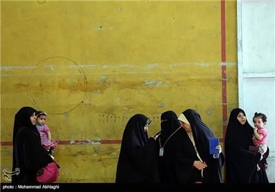 الاقتراع البرلمانی العراقی فی قم المقدسة