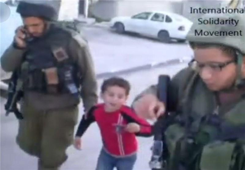 6 Yaşındaki Filistinli Çocuk Siyonist Askerler Tarafından Tutuklandı