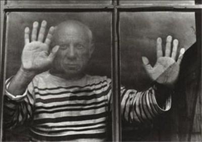 تابلو پیکاسو نقاشی سالمند آلزایمر پیرمرد