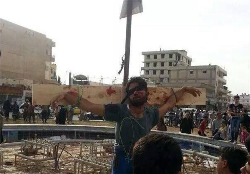 «داعش» تعدم 7 أشخاص بینهم اثنان صلباً فی محافظة الرقة فی سوریا