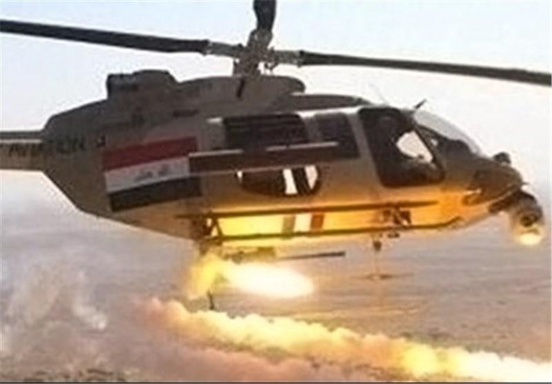 """الطیران العراقی یقصف مواقع لتنظیم """"داعش"""" الارهابی فی محافظة بابل"""