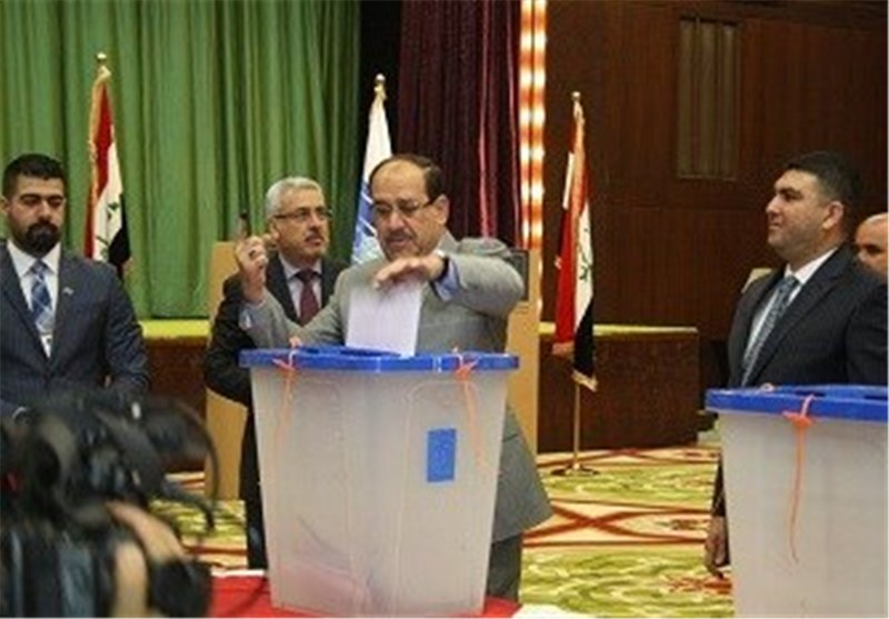 المالکی واثق من فوزه بانتخابات العراق ویترقب حجم الانتصار