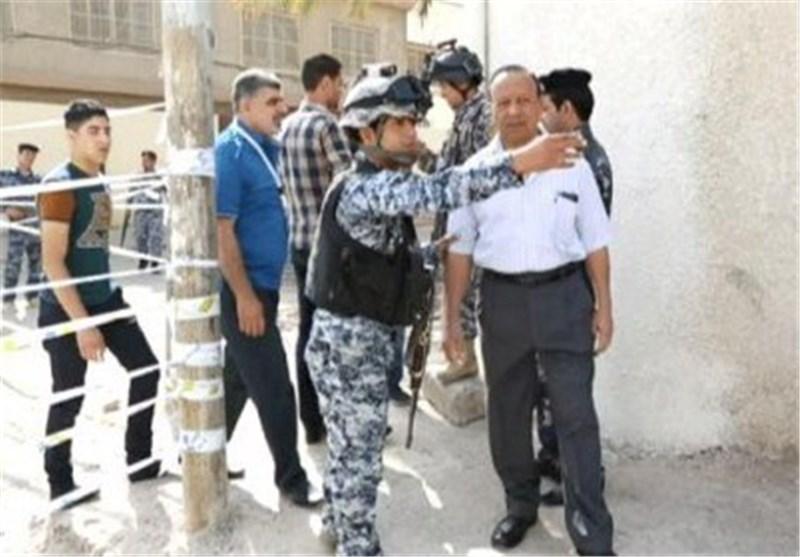 شرطی عراقی یحتضن انتحاریا لمنعه من تفجیر مرکز انتخابی فی بیجی