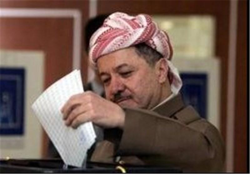 رئيس اقليم كردستان مسعود البارزاني