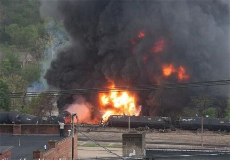 مدیرکل راه آهن شمال: آتش در قطار باری ساری اطفا شد