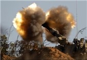 حمله توپخانهای و هوایی رژیم صهیونیستی به مواضع مقاومت در غزه