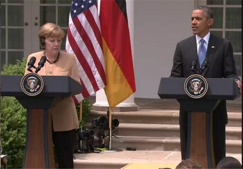 گفتوگوی اوباما و مرکل درباره مذاکرات هستهای ایران