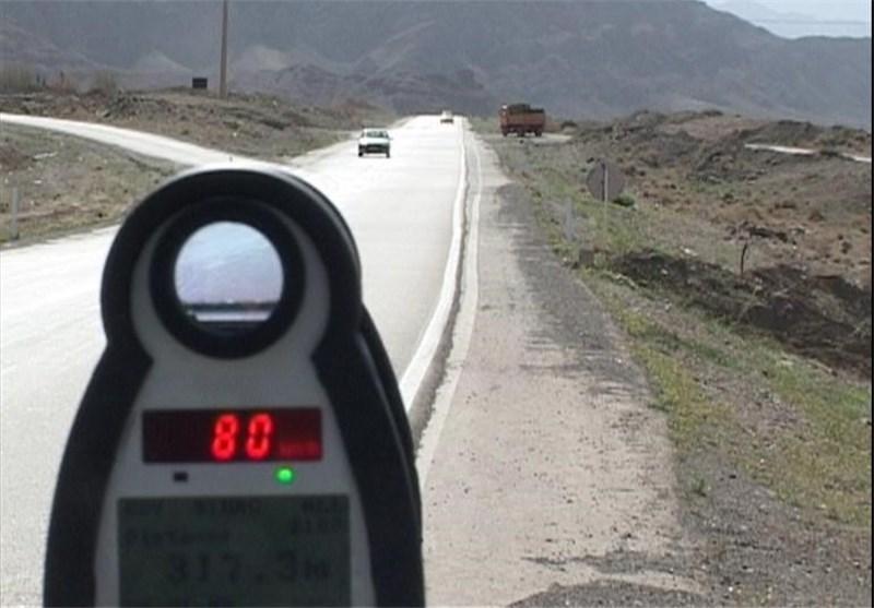 پلیس کنترل سرعت کرمان