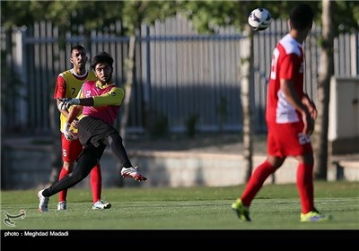 Iranian U-23 Football Team's First Training Session under New Coach