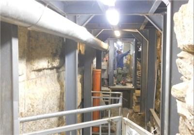 الاحتلال حفر 60 متراً تحت المسجد الأقصى وکشّف عن حجارته الضخمة