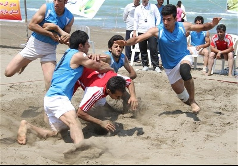 Iran Beach Kabaddi Wins Gold in Asian Beach Games