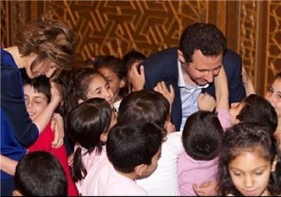 الأسد: السوریون یفخرون دائما بشهدائهم