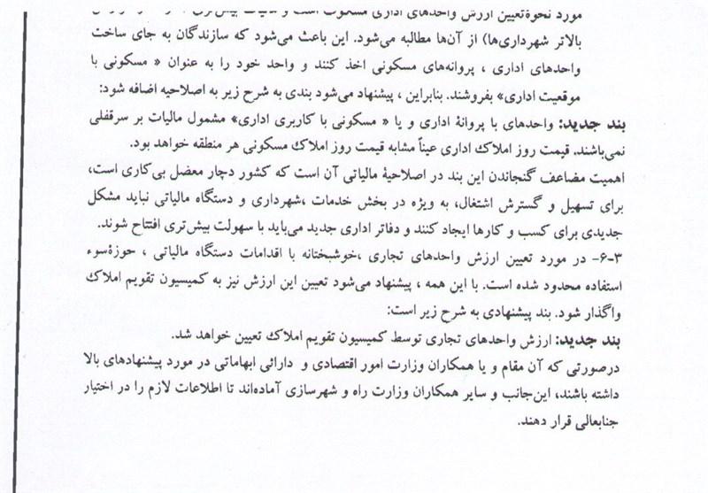 139302171902223122708644 متن نامه وزارت راه به لاریجانی برای حذف دو بند از لایحه تحول مالیاتی