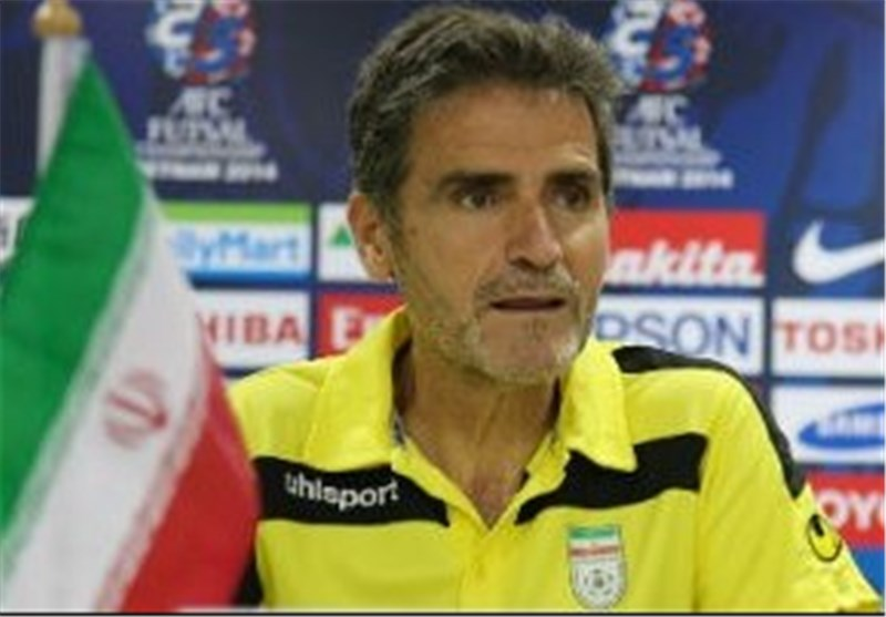 Jesus Candelas to Stay Iran Futsal Coach, Official Says