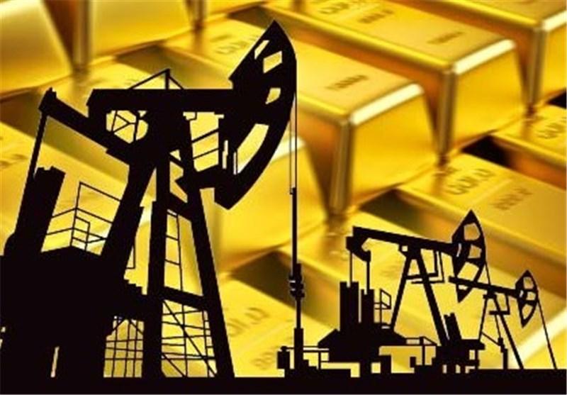 نفت گران، طلا ارزان شد