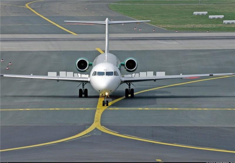 هبوط طائرة ایرانیة بدون عجلات فی مطار مهر آباد بطهران