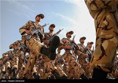 Graduation Ceremony for Iranian Army Ground Force Airborne Division Cadets