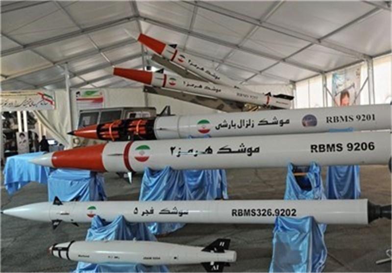 بالصور .. صاروخ هرمز قناص بالیستی ماهر للسفن الحربیة العملاقة آخر الانجازات الدفاعیة للحرس الثوری
