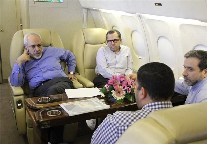 الفریق النووی المحاور یغادر طهران متوجها الی نیویورک للتفاوض مع مجموعة 5+1