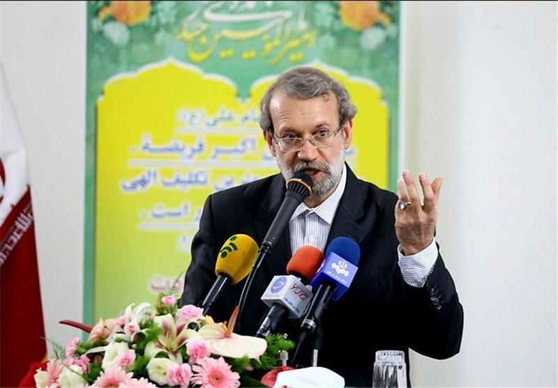 رئیس مجلس الشوری الاسلامی: تخرصات الاعداء لن تثنی شعبنا عن مواصلة طریقه ولاتثبط معنویاته