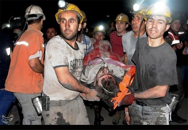 انفجار معدن ترکیه