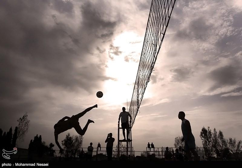 Iran Footvolley Team Comes 2nd at Asian Championship