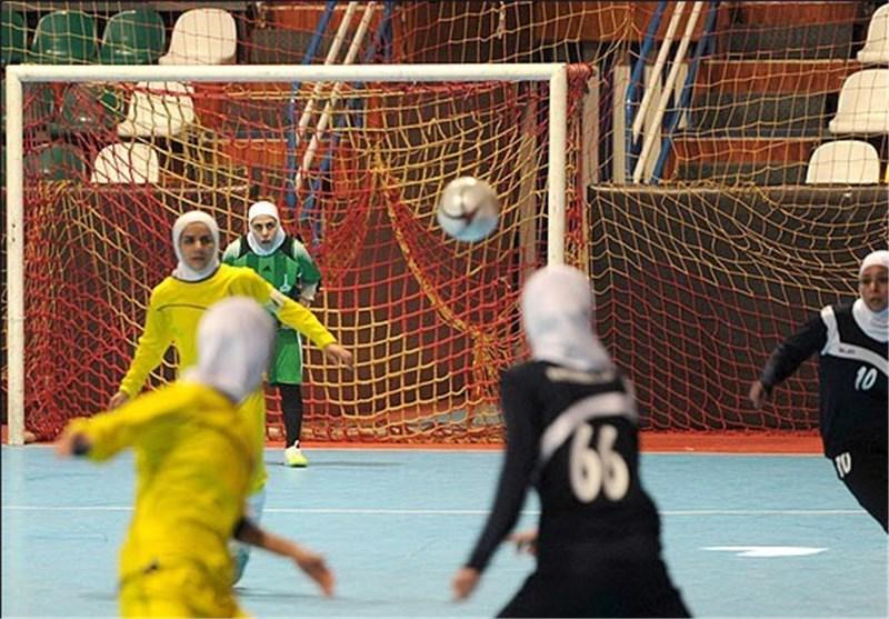 تقابل دختران کویر با صدرنشین در هفته چهارم لیگ برتر فوتسال